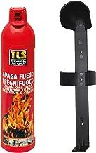 Apaga Fuegos Extintor Portatil 500 ml con soporte para coche, caravana, barco, hogar