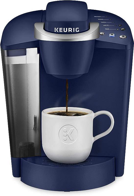 Keurig K Classic Coffee Maker Single Serve K Cup Pod Coffee Brewer 6 To 10 Oz Brew Sizes Blue