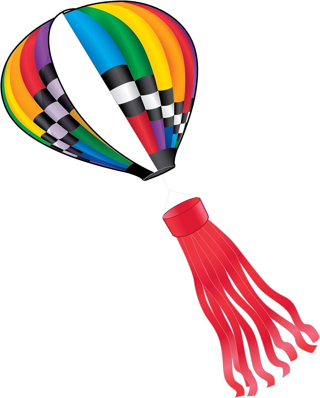 X-Kites Air Watch Hot Balloon DLX 3D Kite Nylon Long Baltimore Mall Beach Mall