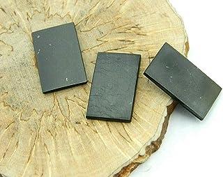 3 pcs Shungite polished plates for mobile phones, EMF protection