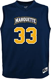 NCAA by Outerstuff NCAA Marquette Golden Eagles Youth boys Chase Basketball Jersey, Navy, Youth Medium(10-12)