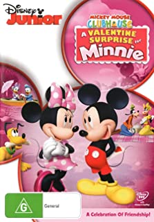 Mickey Mouse Clubhouse: A Valentine Surprise For Minnie  (DVD)