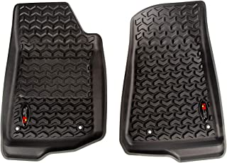 Rugged Ridge 1292036 Black Front Floor Liner