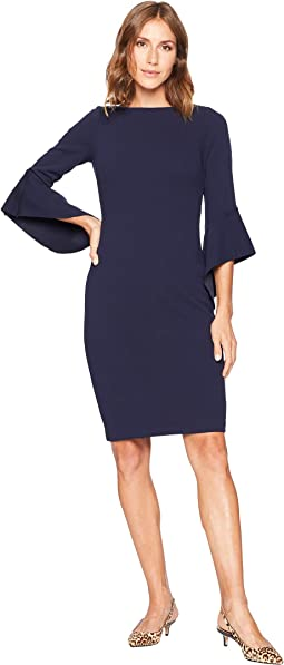 Circle Sleeve Bodycon Dress