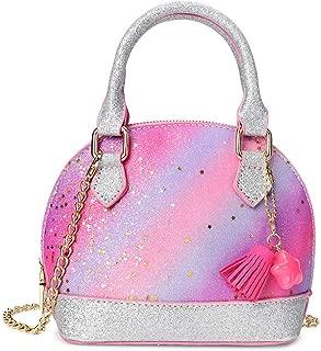 Glitter Toddler Purse for Little Girls Mini Kids Crossbody Handbag Shoulder Bag Age 2-10