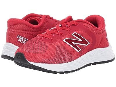 New Balance Kids IAARIv2 (Infant/Toddler) (Team Red/White) Boys Shoes