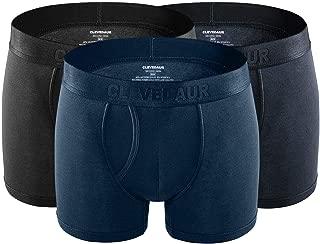 Men's Underwear Ultra Soft Modal Boxer Briefs Silky-Smooth Underwear for Men (Pack of 3)