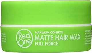RedOne Matte Hair Wax, Green
