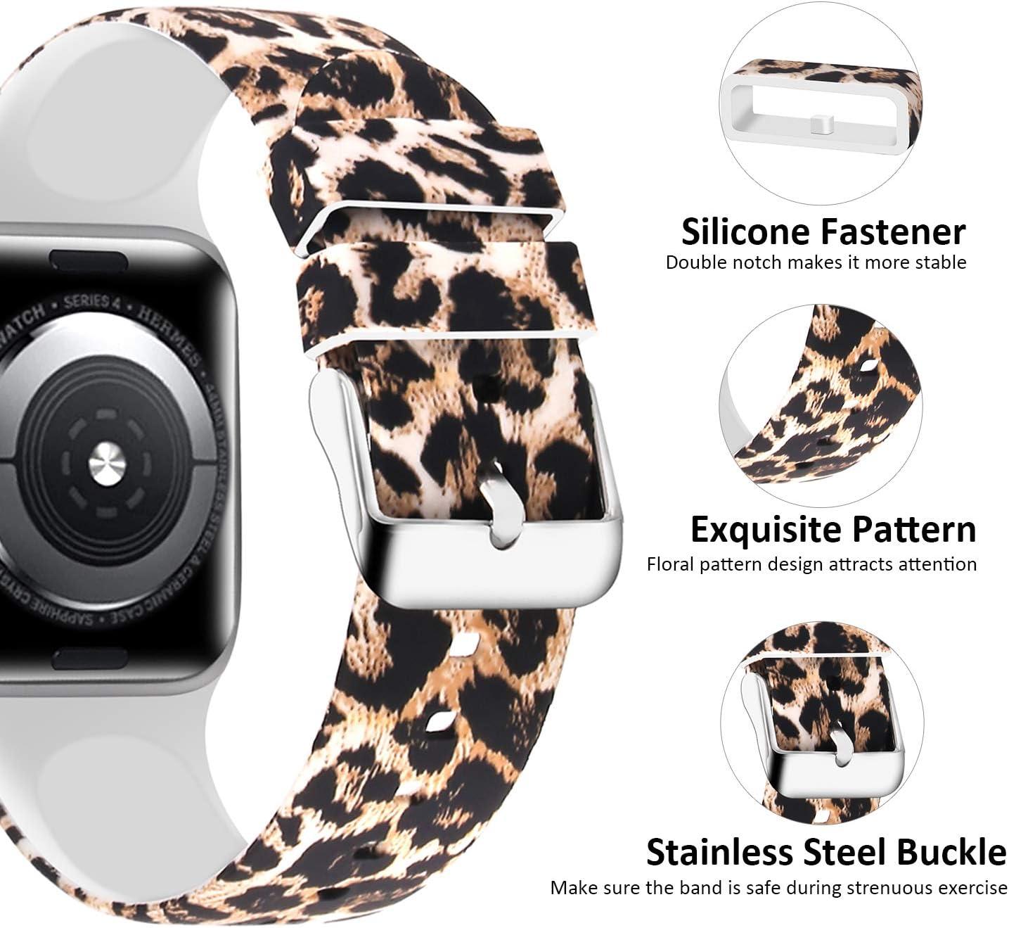 Malla leopardo para Apple Watch Serie 5/4/3/2/1 38MM/40MM