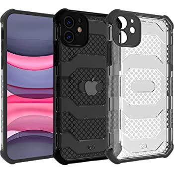 Restoo iPhone 11 Case,Anti-Slip Hard Armor ShockproofCase with Full Body Rugged Heavy Duty Protection for iPhone11 6.1 inch,Black