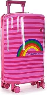 Cloe - Maleta Vertical Rosa Para Mujer de 20 Pulgadas Agatha