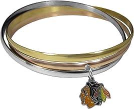 Siskiyou NHL unisex-adult Tri-color Bangle Bracelet