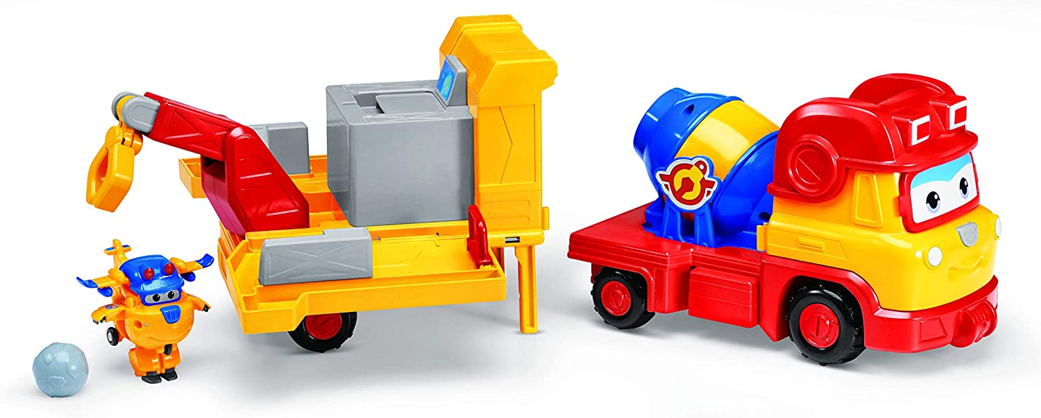 Super Wings - 3-in-1 Build It Buddies | Playset | Special Edition Build-It Donnie Toy Figure