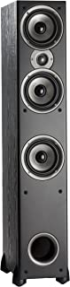 Polk Audio Monitor 60 Series II Floorstanding Speaker - Bestseller for Home Audio | Big Sound, | Affordable Price | 1 (1-inch) Tweeter and 3 (5.25-inch) Woofers | Black, Single