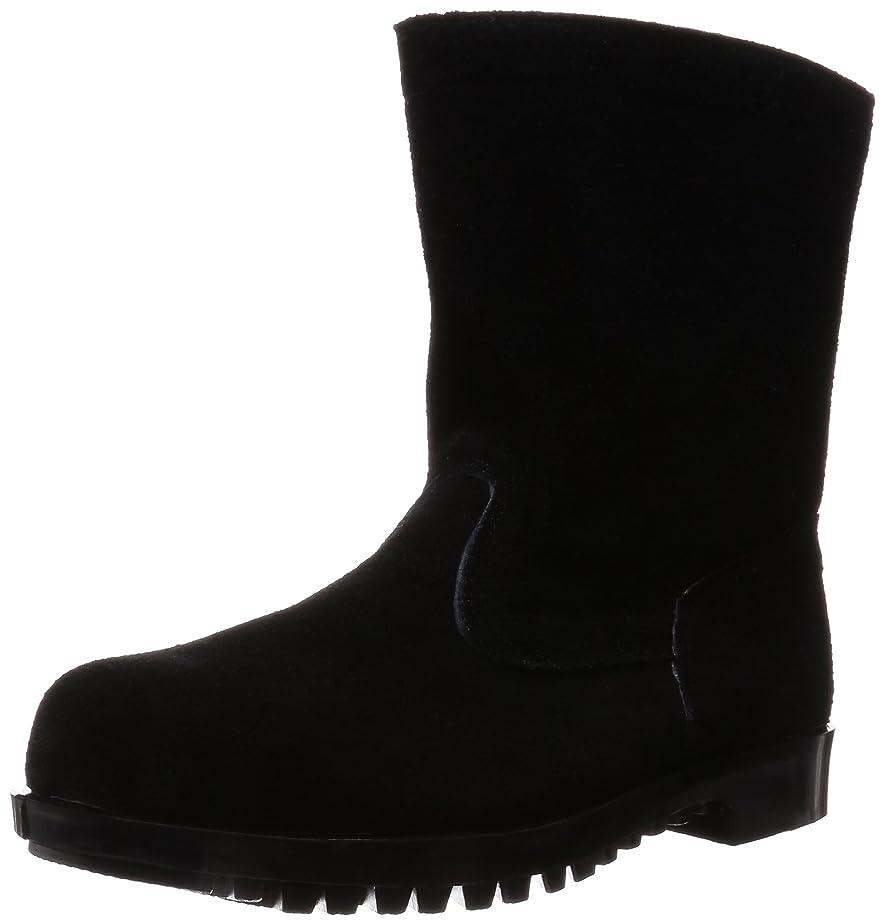 回想はげ改善[ノサックス] 安全靴 溶接 炉前作業用 半長靴 メンズ