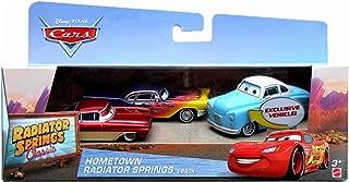 Disney Pixar Cars Hometown Radiator Springs 3-Pack Exclusive Jonas Revera, Greta and Old School Ramone