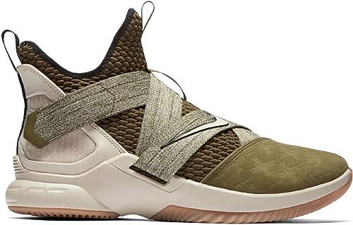 Nike Nike Nike Herren Lebron Soldier XII Basketballschuhe Mehrfarbig (Olive Canvas String Gum Light braun 300) 47.5 EU  jetzt bestellen viel rabatt genießen