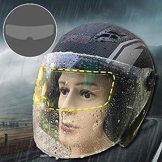 Yeaphy Capacete à prova de chuva e neblina, tipo universal, capacete anti-chuva, película antiembaçante