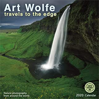 Art Wolfe 2020 Wall Calendar: Travels to the Edge - Nature Photography From Around the World