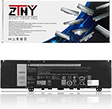 ZTHY F62G0 Battery Replacement for Dell Inspiron 13 7000 7370 7380 7386 5370 7373 2-in-1 P83G Vostro 13 5370 D1525S R1605S Series Laptop F62GO RPJC3 0RPJC3 39DY5 039DY5 38Wh 3-Cell 11.4V 3166mAh