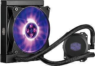 Cooler Master MasterLiquid ML120L RGB Refrigeración a Liquido CPU - Efectos de Iluminación Personalizados, Bomba de Disipación Dual y Ventilador de Aire de 120 mm