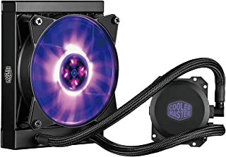 Cooler Master MasterLiquid ML120L RGB AIO CPU Liquid Cooler '120mm Radiator, All-in-One, Dual Dissipation Pump' MLW-D12M-A20PC-R1