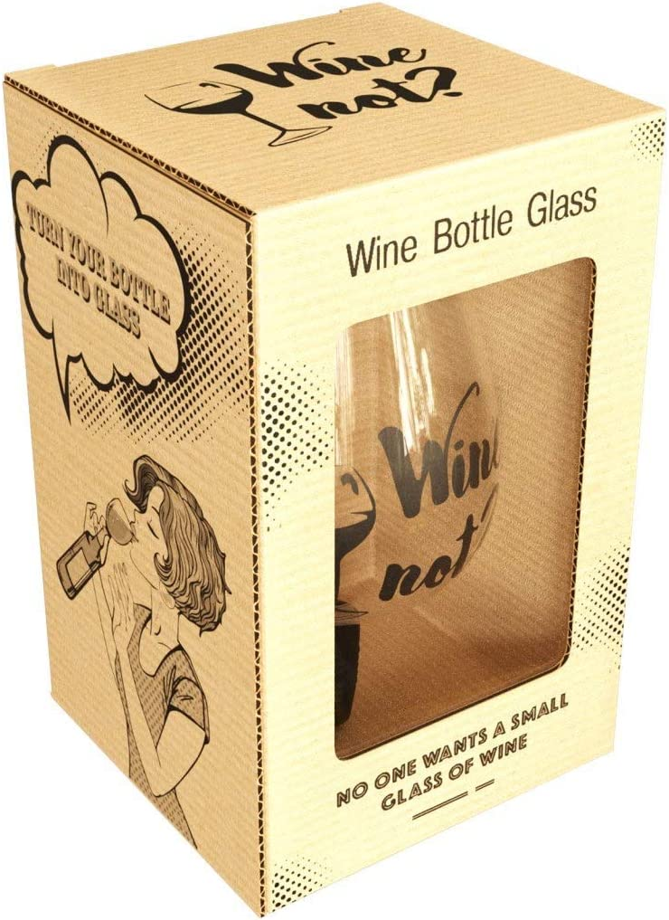 Wine Bottle Glass Topper - Straight 16 Drink Clear oz Regular discount cheap