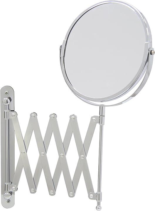 Specchio, cromato, argento, ca. 16 x 56 cm axentia 282802