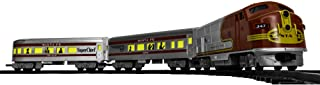 Lionel Santa Fe Diesel Passenger Ready-to-Play Set, Battery-powered Model Train with Remote