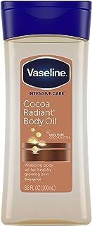 Vaseline Intensive Care Body Gel Oil, Cocoa Radiant, 6.8 oz (Pack of 3)