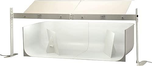 MyStudio MS20DEL Deluxe Table Top Photo Studio Lightbox Kit with 5000K Lighting and Dual 20