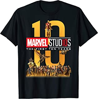 Best Marvel Studios First Ten Years Full Cast Graphic T-Shirt T-Shirt Review