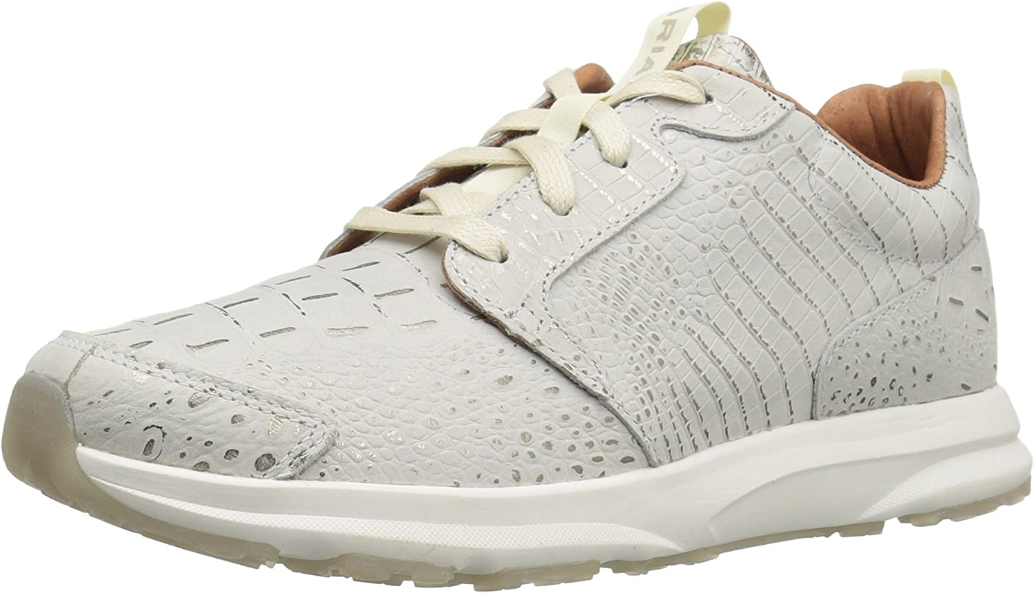 Ariat Women's Fusion Athletic shoes, Electric Crocodile, 10 B US