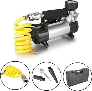 Dromedary Portable Electric Auto Car Tire Inflator Pump Compressor Air Inflator Pump with Storage Box 12v 35L/Min