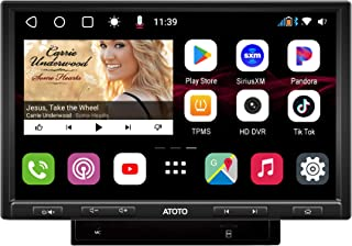 [DAH10D/QLED] ATOTO S8 Pro S8G2104PR-N Double-DIN Android Car Stereo Receiver,Dual Bluetooth w/aptX HD,USB Tethering, Spli... photo