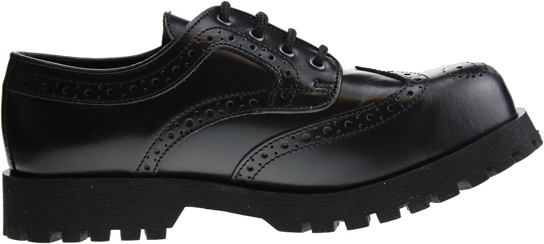 Stiefel & Braces Braces Braces Schuhe 4-Loch Budapester Schwarz  88db45