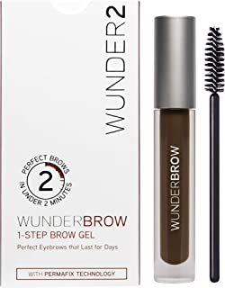Wunderbrow - The Perfect Eyebrows That Last for Days in Under 2 Minutes - Black/brown
