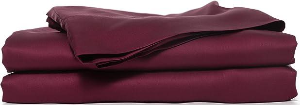 Hotel Sheets Direct Bamboo Bed Sheet Set Full Burgundy