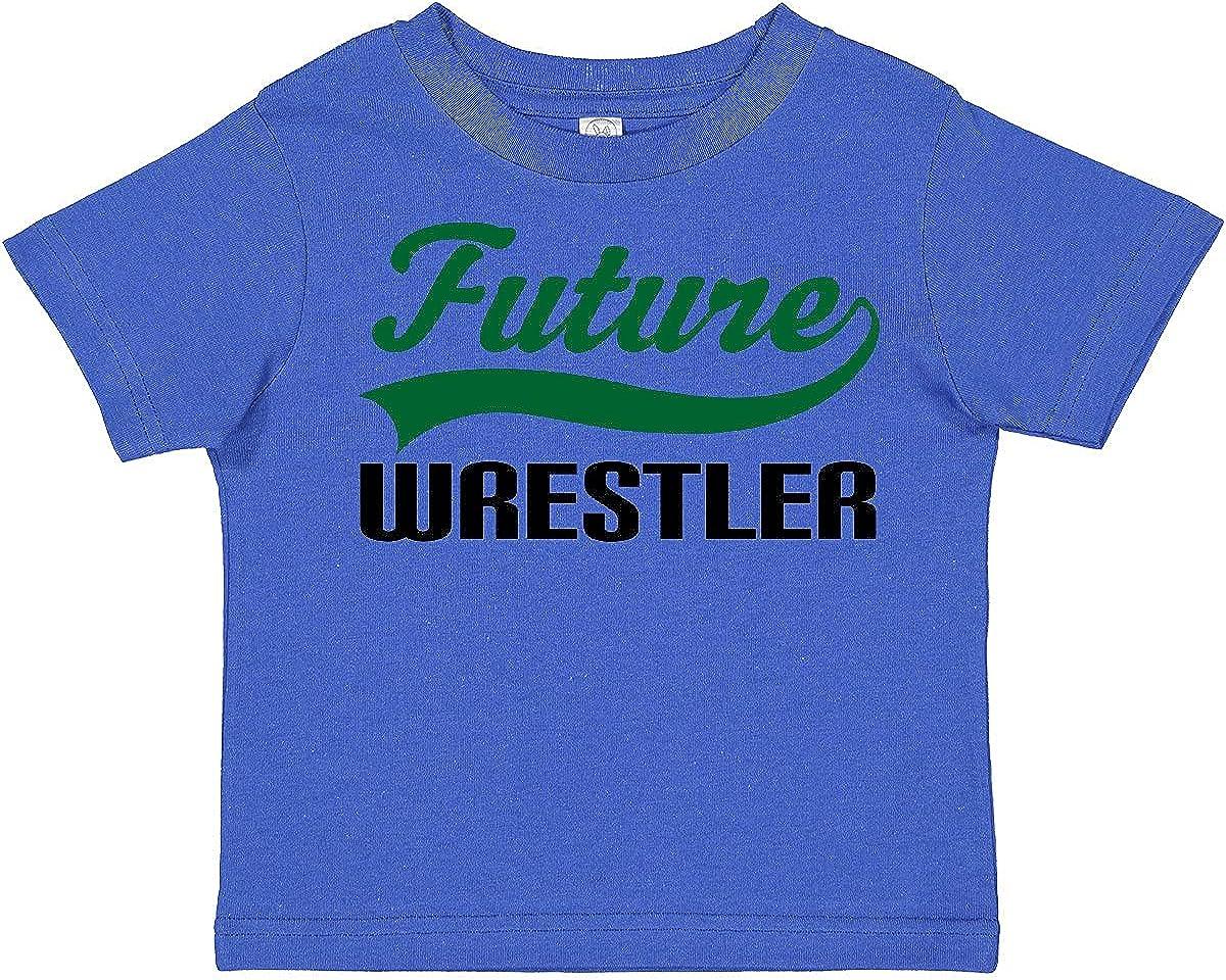 inktastic Future Wrestler Toddler T-Shirt