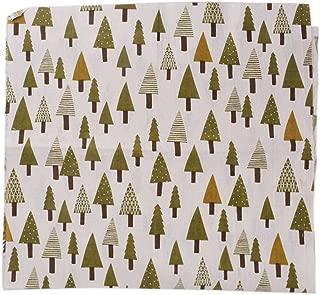 Souarts oscuro rubio. Árbol de Navidad Patrón Tela Patchwork hojas para DIY Craft