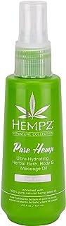 Sponsored Ad - Hempz Pure hemp bath, body & massage oil, 4.2 Ounce