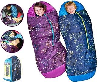 安くて良いAceCampキッズ寝袋子供用寝袋シャッフルマミータイプ子供用寝袋リン光..買う