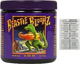 Foxfarm Beastie Bloomz, 6 oz + Twin Canaries Chart