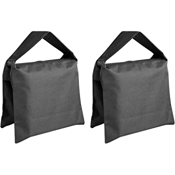 Neewer Heavy Duty Photographic Sandbag Studio Video Sand Bag for Light Stands, Boom Stand, Tripod -2 Packs Set