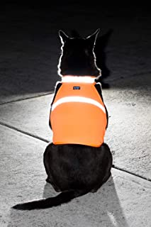 2PET Dog Hunting Vest and Safety Reflective Vest - Used for High Visibility - Protects Pets from Cars & Hunting Accidents in Both Urban and Rural Environments - Choose Color and Size