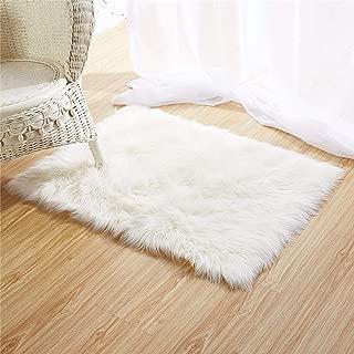 large square sheepskin rug