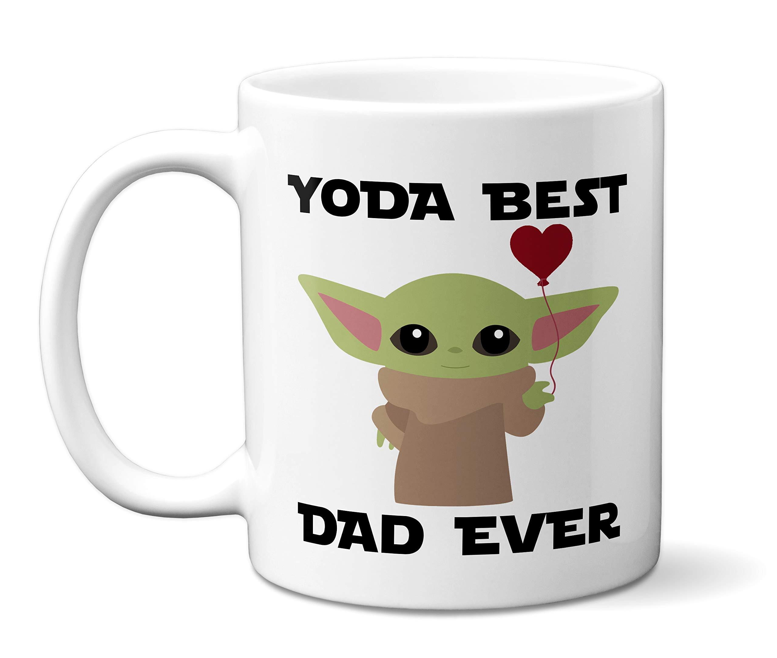 Cool mug Per Novelty mug Star wars yoda best dad ever mug Funny mug Ceramic