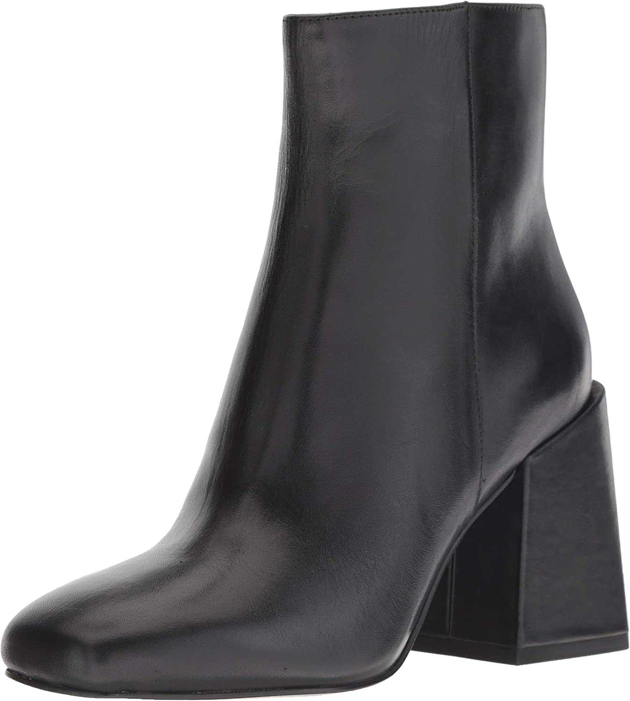 Nine West Damen Apphappy Leather Leather Stiefelette  bester Verkauf