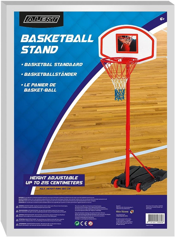 Alert g10001 Mobiler Basketballkorb mit Ständer verstellbar 165-205cm B0075TH9XU  Geeignet für Farbe  | Exzellente Verarbeitung