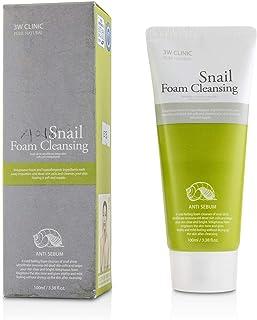 3W CLINIC Snail Foam Cleansing 100ml